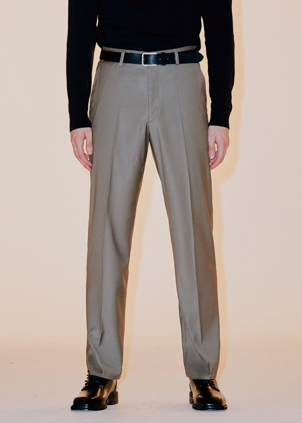 202 SEMI WIDE SLACKS KHAKI