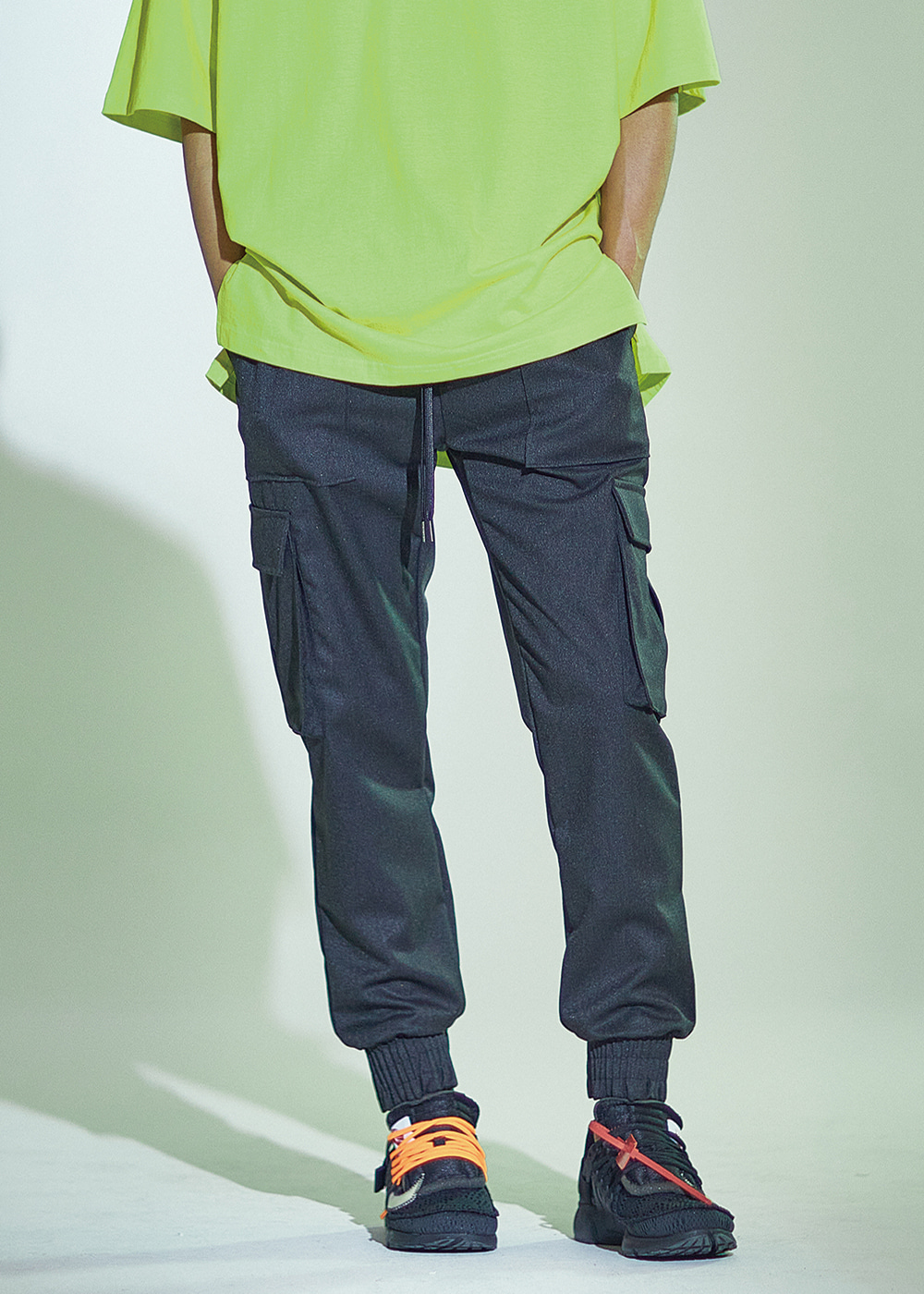 091 PREMIUM STRONG CARGO JOGGER CHARCOAL